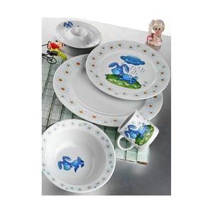 Dětská jídelní sada Oslík, 5 ks