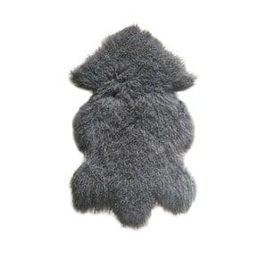 Šedý vlněný koberec z ovčí kožešiny Auskin Ursell,60x80cm