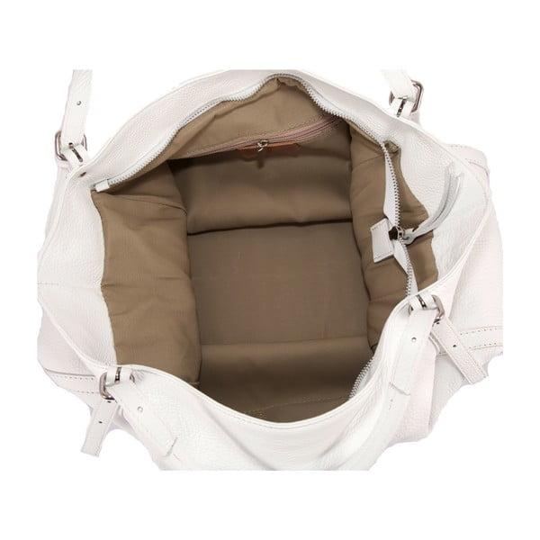 Bílá kabelka z pravé kůže Andrea Cardon Luca
