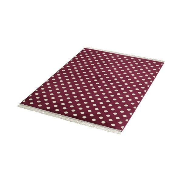 Koberec Fringe - fialový, 140x200 cm