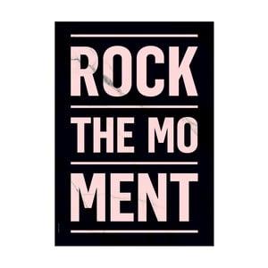 Autorský plakát Rock The Moment, A3