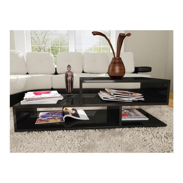 Konferenční stolek Kamelya Black