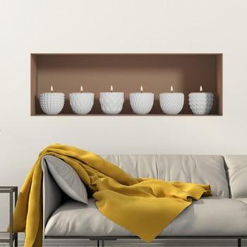 Autocolant de perete 3D Ambiance Candles