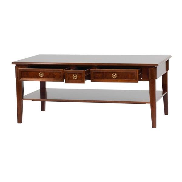 Dřevěný konferenční stolek Folke Mozart Salzburg