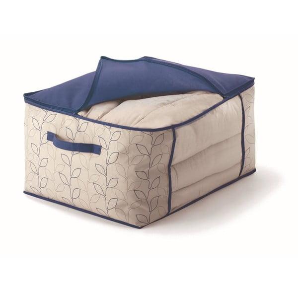 Modrý úložný box na přikrývky Cosatto Bloom, šířka60cm