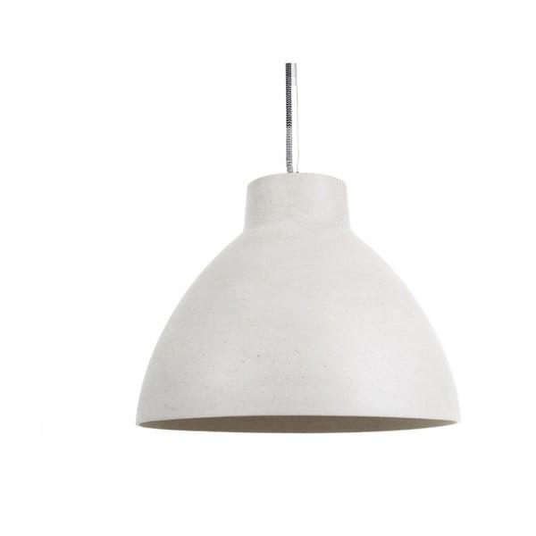 Bílé závěsné svítidlo Leitmotiv Sandstone Mini