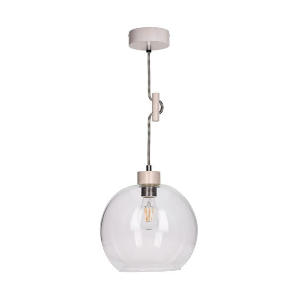 Bílé závěsné světlo BRITOP Lighting Svea