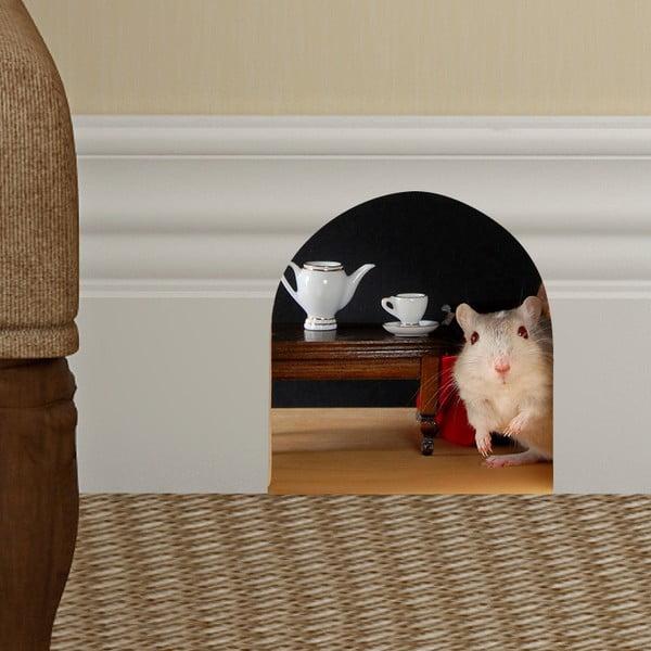 Samolepka Ambiance Mouse Hole