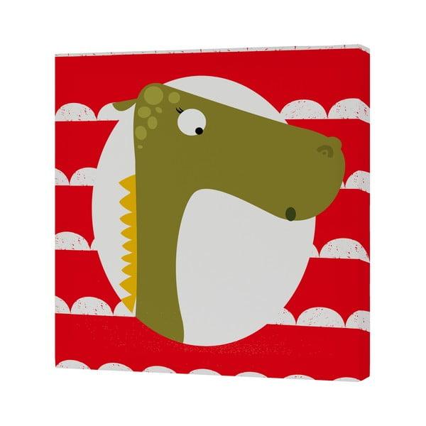 Nástěnný obrázek Dragon, 27x27 cm