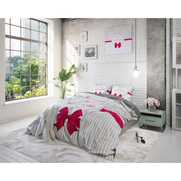 Povlečení Sweet Dreams 240x200 cm, růžové