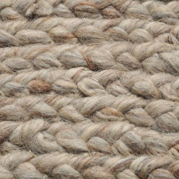Vlněný koberec Rebecca Grey, 150 cm
