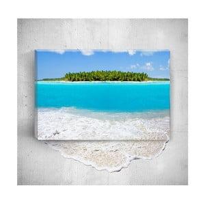 Nástěnný 3D obraz Mosticx Beautiful Sea, 40 x 60 cm
