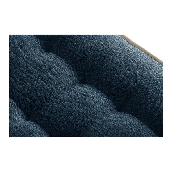 Tmavě modrá podnožka s krémovým lemováním Stella Cadente Maison Atalaia