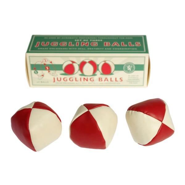 Sada 3 žonglovacích loptičiek Rex London