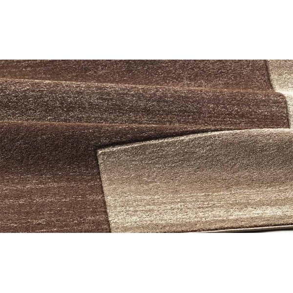 Koberec Webtappeti Intarsio Gradient Brown, 140x200 cm