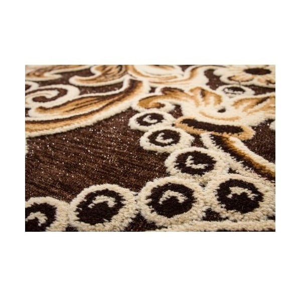 Koberec Brown Ornaments, 160x230 cm