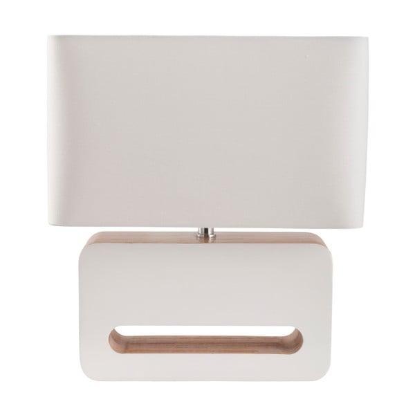 Bílá stolní lampa Zuiver Wood
