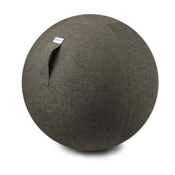 Šedo-béžový sedací míč VLUV, 65 cm