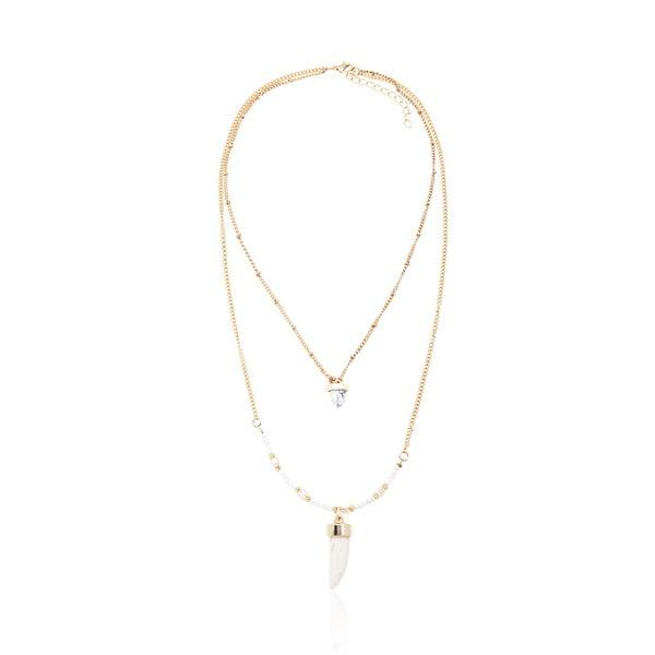 Beatrice aranyszínű nyaklánc - NOMA