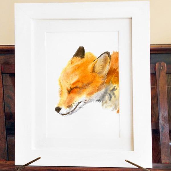 Plakát Mama Fox A4