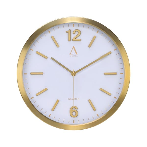 Nástěnné hodiny Goldie, 30.5cm