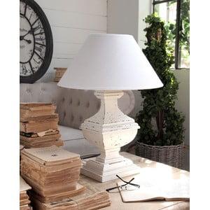 Stolní lampa Shabby White, 60 cm