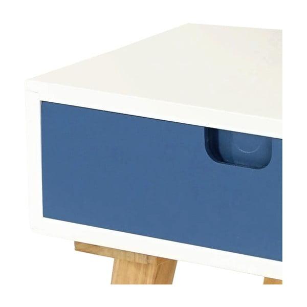 Noční stolek Vaasa Blue, 40x40 cm