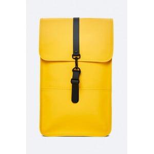 Žlutý batoh s vysokou voděodolností Rains Backpack