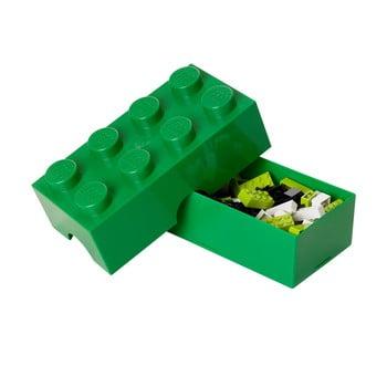 Cutie pentru prânz LEGO®, verde închis imagine