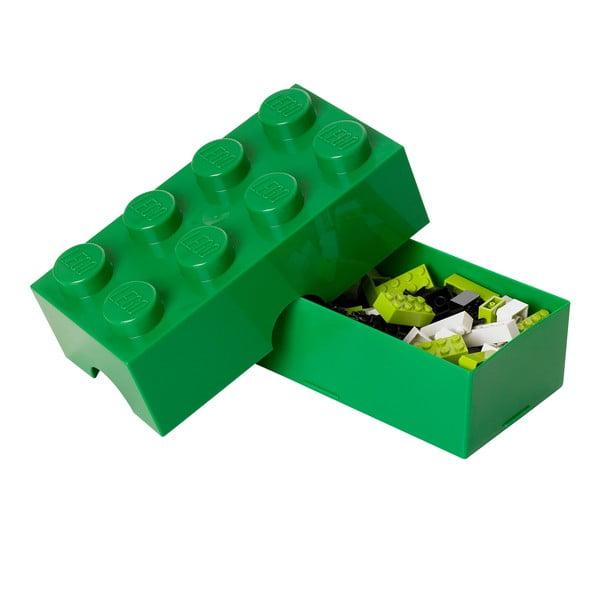 Cutie pentru prânz LEGO®, verde închis