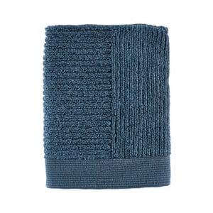 Tmavě modrý ručník Zone Simple, 50x70cm