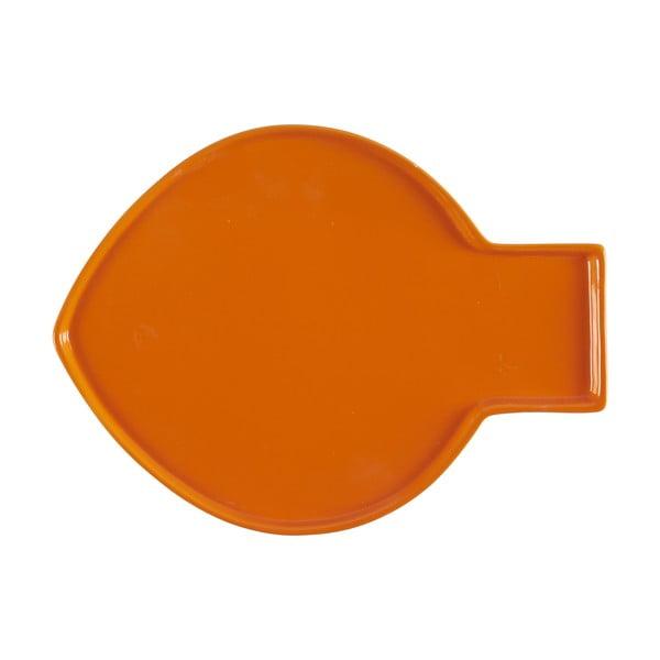 Oranžový talíř Athezza Caracas