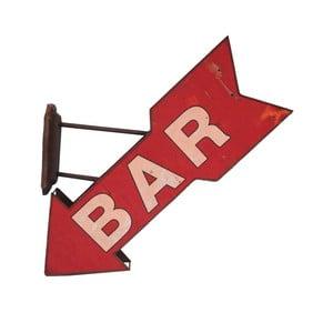 Nástěnná dekorace Antic Line Fleche Bar