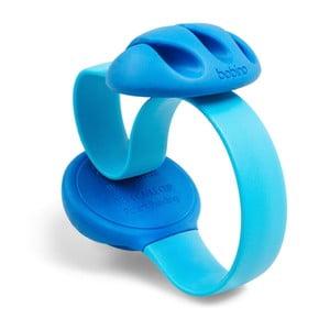 Modrá úchytka na kabely na stůl Bobino® Cable Clip