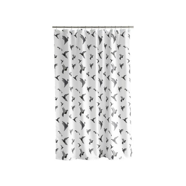 Sprchový závěs Origam white, 180x200 cm