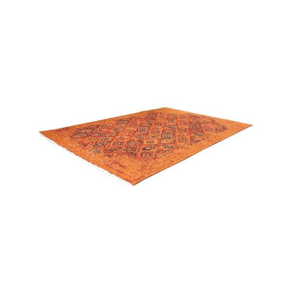 Covor reversibil Homemania, 125 x 180 cm, portocaliu-maro