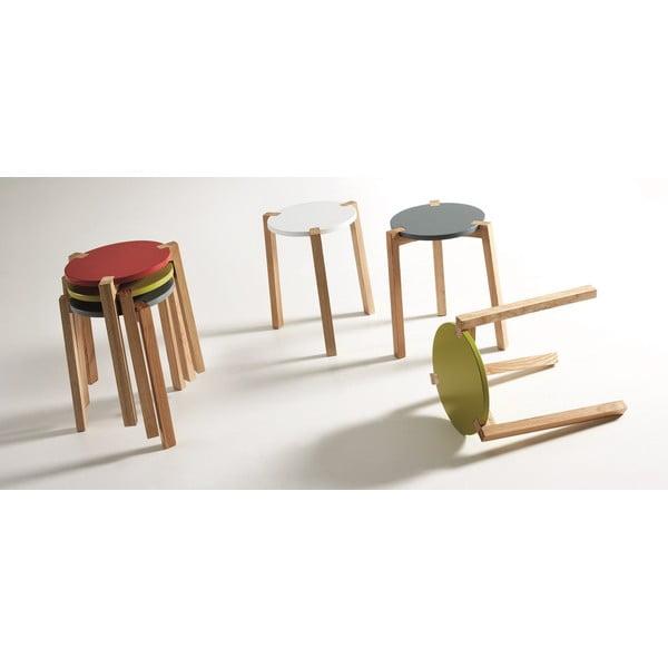 Modrý odkládací stolek La Forma Elroy
