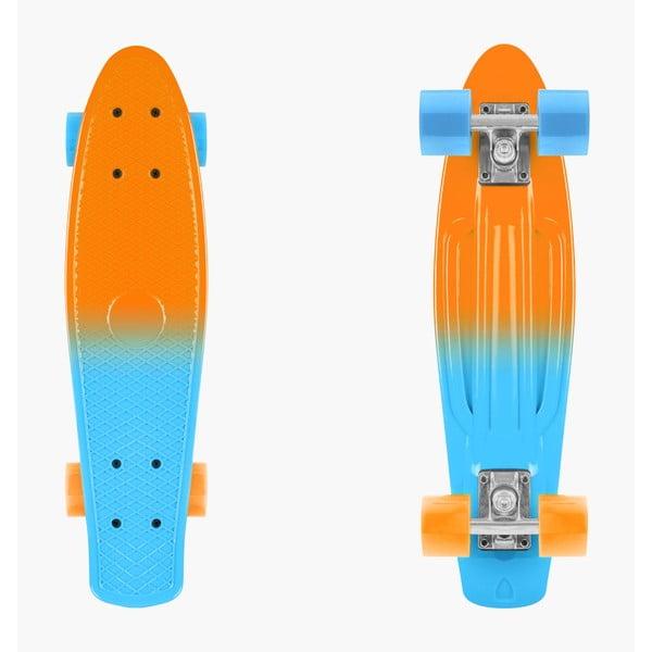 Skateboard colorat InnovaGoods Mini Cruiser Ananas