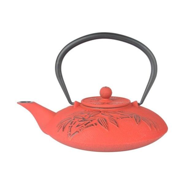 Červená železná čajová kanvica Bambum Mate, 720 ml