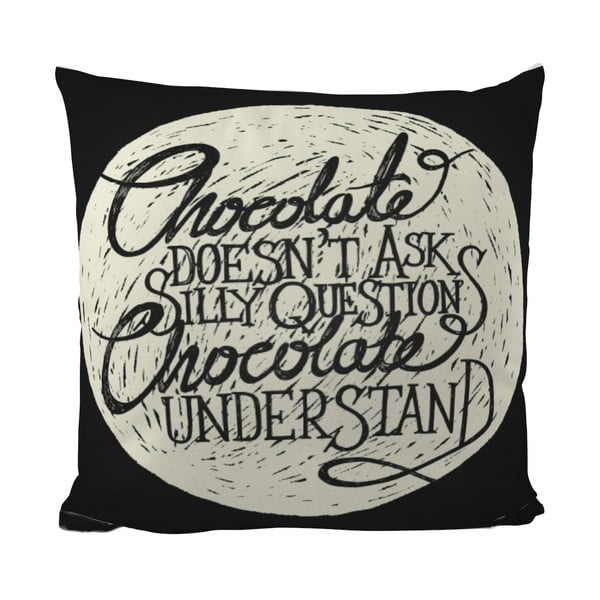 Polštářek Black Shake Choco Love, 40x40 cm