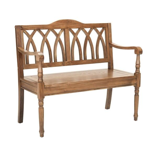 Dřevěná lavice Adalyn