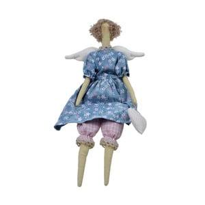 Látková dekorační panenka Ego Dekor, výška 43 cm