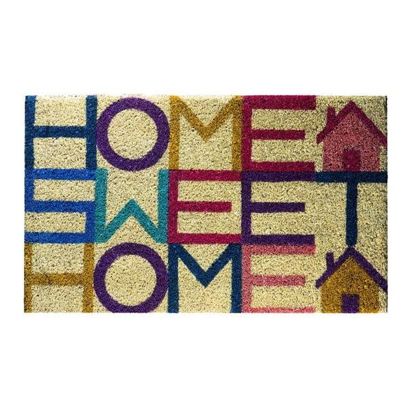 Rohožka z kokosových vláken Fisura Felpudo Sweet Home, 40x70 cm