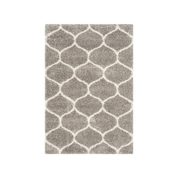 Šedý koberec Safavieh Zoey, 228 x 154 cm