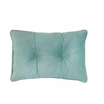 Pernă Tiseco Home Studio Velvet Button, 40x60cm, verde deschis de la Tiseco Home Studio