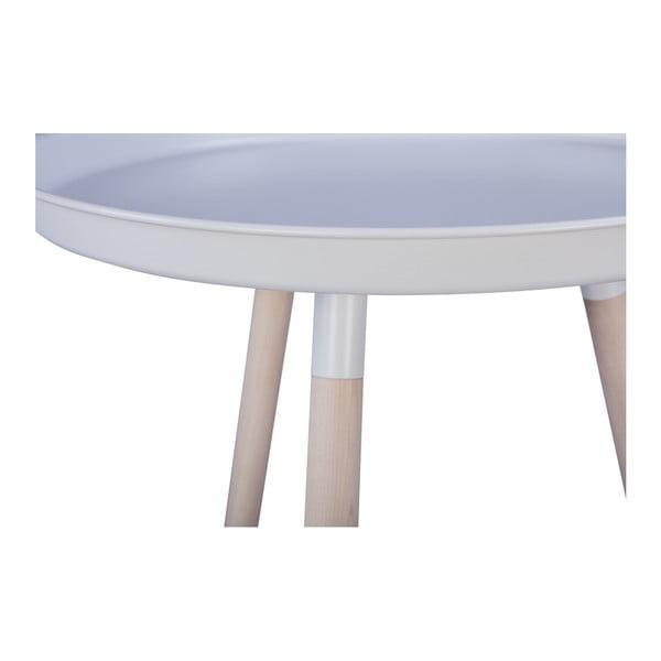 Bílý odkládací stolek Nørdifra Sticks Tray
