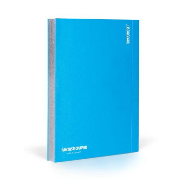 Zápisník FANTASTICPAPER A5 Ocean/Silver, čistý