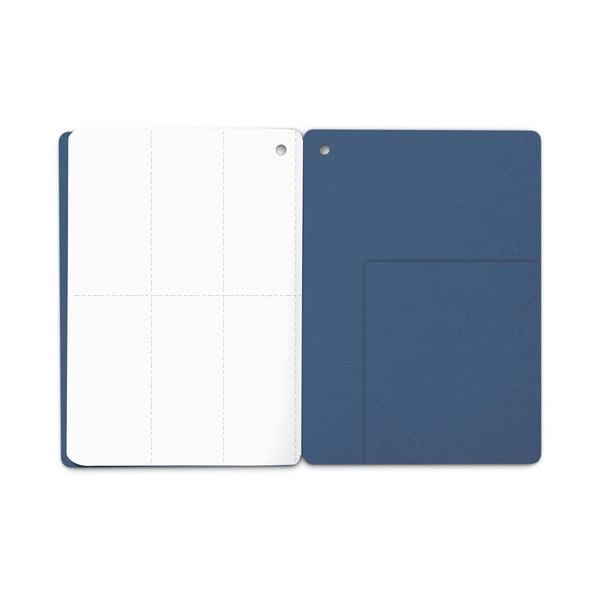 Zápisník Plumb, modročervený
