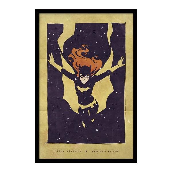 Plakát Catwoman, 35x30 cm
