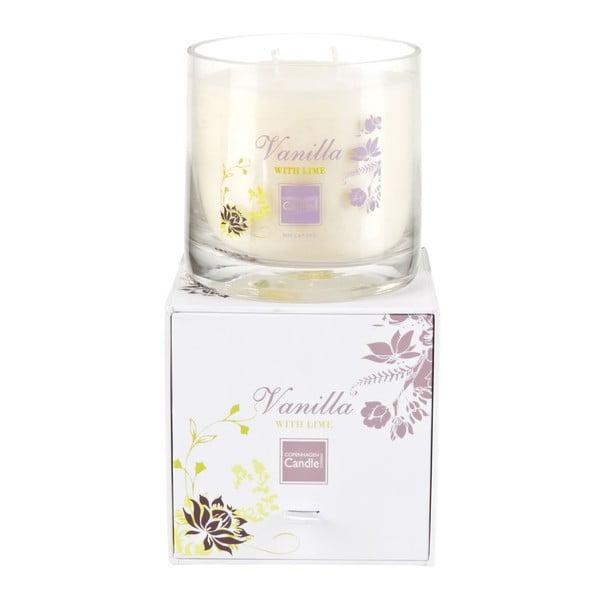 Aroma svíčka Vanilla & Lime Medium, doba hoření 50 hodin